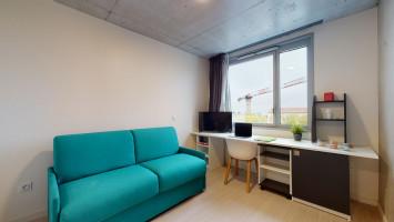 Photo Studio de 19m² meublé et équipé n° 1