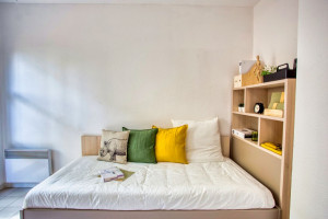 Photo T1 bis furnished 33m² in a student residence in Nîmes n° 12