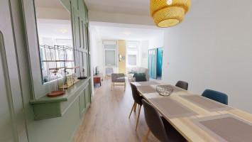 Offre 2020: frais de location offerts/ T6 pour colocation secteur Marbrerie