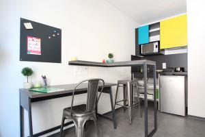 Photo Studio dans une résidence étudiante neuve et moderne n° 3