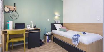 Photo Studioavec terrasse de 18 m² meublé et équipé n° 4