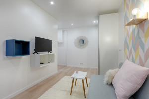 Vente studio rue Curial