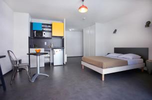 Photo Studio dans une résidence étudiante neuve et moderne n° 1