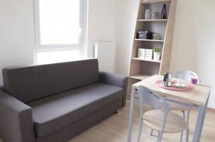 Photo Location étudiant : T2 de 30m2, résidence étudiante Strasbourg n° 21