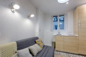 Magnifique studio entièrement refait à neuf - rue Jean Pierre Timbaud