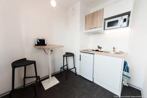 Photo T1 de 22 à 32 m² Meublé & neuf - Résidence étudiante Rennes n° 11