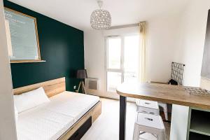 Photo Chambre en co-living en résidence étudiante à Caen n° 4