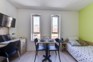 Photo Studio 18m² to 22m² for rent between 380 € and 430 € n° 9
