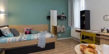 Photo Studio de 16 à 26m² meublé et équipé n° 9