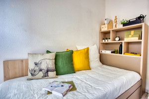 Photo T1 bis furnished 33m² in a student residence in Nîmes n° 14