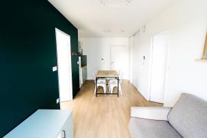Photo Chambre en co-living en résidence étudiante à Caen n° 1