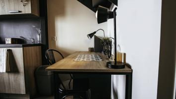 Photo Studio mezzanine en résidence étudiante à Saint Etienne dans quartier résidentiel n° 6