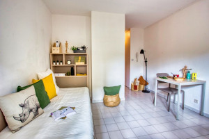 Photo T1 bis furnished 33m² in a student residence in Nîmes n° 25