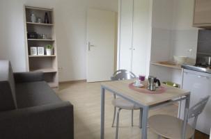 Photo Location étudiant : T2 de 30m2, résidence étudiante Strasbourg n° 14