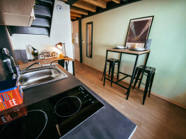 Photo Studio mezzanine en résidence étudiante à Saint Etienne dans quartier résidentiel n° 5