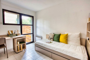 Photo T1 bis furnished 33m² in a student residence in Nîmes n° 13