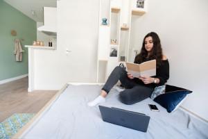 Photo Studio de 18 à 19m² meublé et équipé n° 3