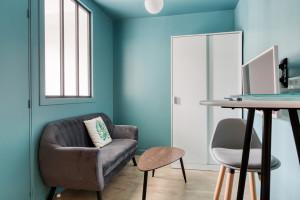Magnifique T2, rue de Jules Genovesi 93200 Saint Denis - Refait à Neuf