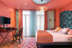 Photo Chambre double/twin standard de de 15 à 17m² meublé n° 5