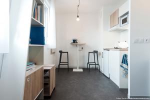 Photo T1 de 22 à 32 m² Meublé & neuf - Résidence étudiante Rennes n° 10