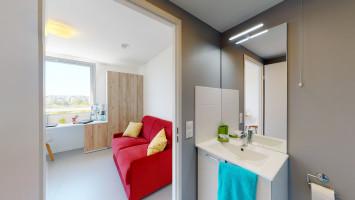 Photo Studio de 17 à 20m² meublé et équipé n° 3