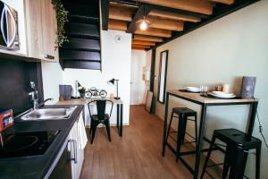 Photo Studio mezzanine en résidence étudiante à Saint Etienne dans quartier résidentiel n° 4