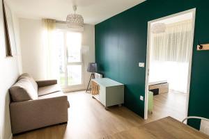Photo Chambre en co-living en résidence étudiante à Caen n° 3