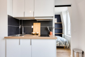 Magnifique T2 refait à neuf par architecte - rue Saint Maur 75011