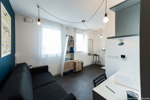 Photo T1 de 22 à 32 m² Meublé & neuf - Résidence étudiante Rennes n° 13