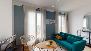 Très beau T2 meublé de 33m² Joliette