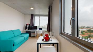 Photo Studio de 19m² meublé et équipé n° 6