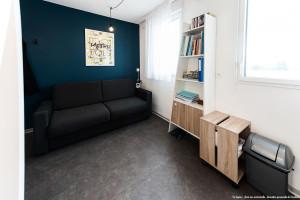 Photo T1 de 22 à 32 m² Meublé & neuf - Résidence étudiante Rennes n° 2