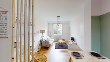 Honoraires de location offerts - Magnifique T4 meublé de 65 m² entre Cinq-Avenues et la Blancarde