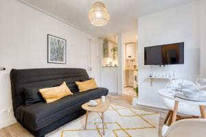 Magnifique studio meublé - refait à neuf par architecte - rue Carle Hébert - Proche La Défense