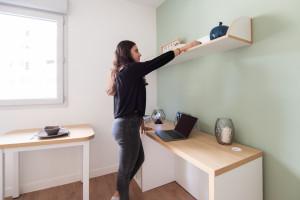 Photo Studio de 18 à 19m² meublé et équipé n° 4