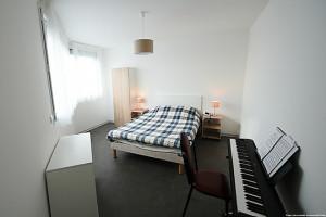 Photo T1 de 22 à 32 m² Meublé & neuf - Résidence étudiante Rennes n° 9