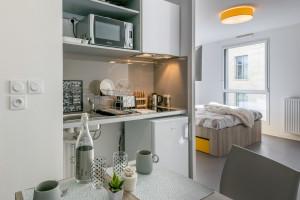 Photo Studio 1 à 2 pers de 19m² à 20m² à partir de 620€ par mois n° 7