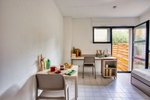 Photo T1 bis furnished 33m² in a student residence in Nîmes n° 4