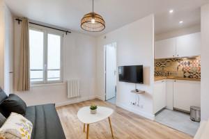 Studio refait à neuf - 12 rue Marx dormoy - 75018 Paris