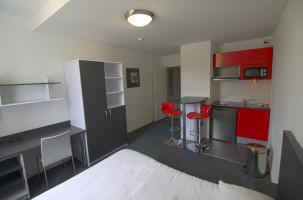 Photo Studio de 25 m² avec lit double n° 4