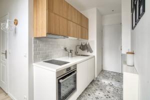 Studio meublé refait à neuf de 18m2, proche métro B Jean Jaurès FRAIS D'AGENCE OFFERTS