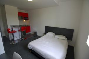 Photo Studio de 25 m² avec lit double n° 3