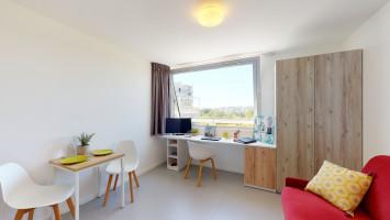 Photo Studio de 17 à 20m² meublé et équipé n° 1
