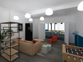 Photo Studio de 18 à 21m² meublé et équipé n° 2