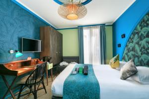 Photo Chambre double/twin standard de de 15 à 17m² meublé n° 10