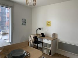 Photo T2 de 40m² meublé et équipé n° 1