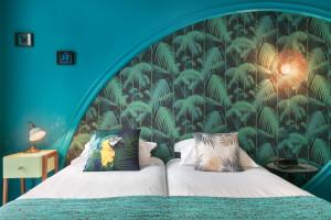 Photo Chambre double/twin standard de de 15 à 17m² meublé n° 4