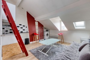 Offre 2021: frais de location offerts/ Studio 13 rue Myrha 75018 Paris