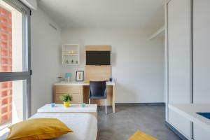 Photo Studios meublés de 18m² à 26m² - Résidence Logifac Cerdana - Toulouse n° 6