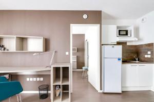 Photo T1 de 19 m² à louer dans une résidence étudiante n° 1